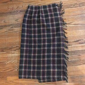 Woolrich Plaid Wrap Skirt